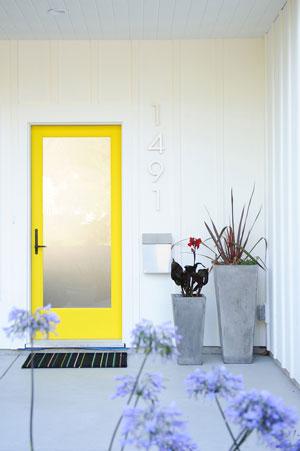 home curb appeal front door