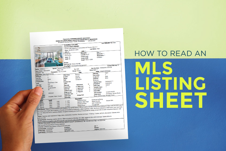 Cover image for blog How to Read an MLS Listing Sheet