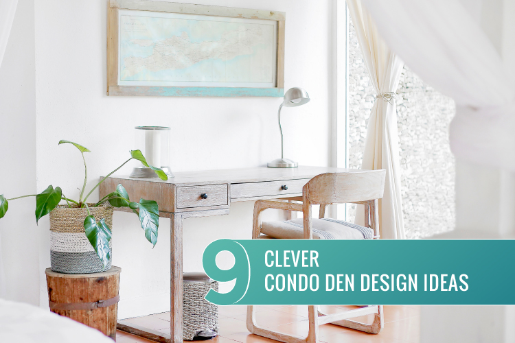9 Clever Condo Den Design Ideas | Maximize Your Living Space