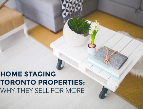 HOME STAGING TORONTO PROPERTIES: WHY THEY SELL FOR MORE