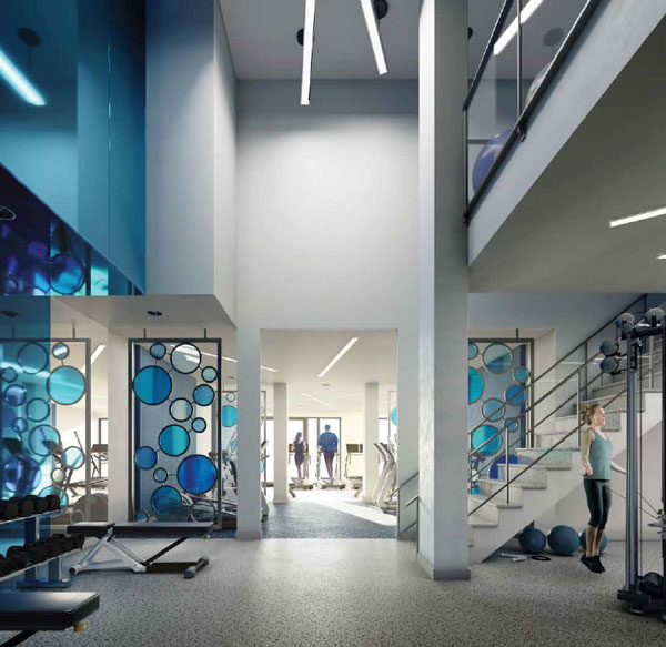 Merge Condos Fitness Centre