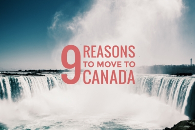 Blog cover for Nine Reasons to Move to Canada
