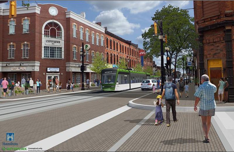 Hamilton LRT rendering
