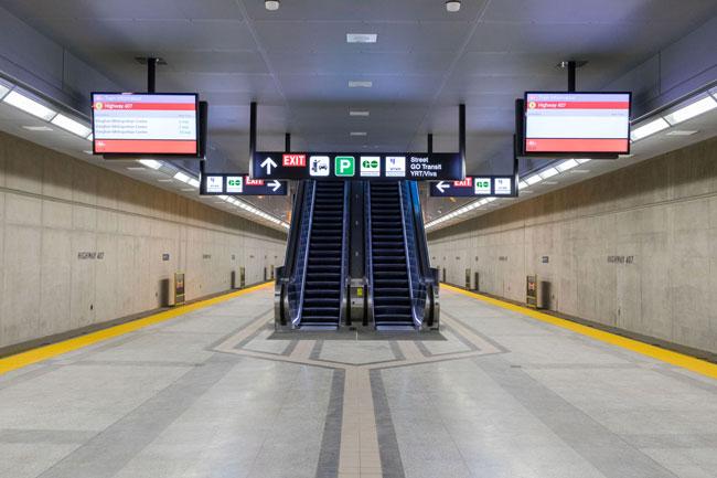 Toronto Transit Plans subway station