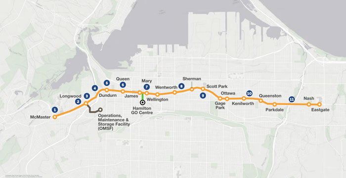Hamilton LRT