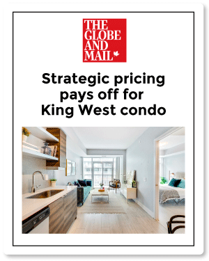 Top Toronto Real Estate Agent | Globe article for Musee Condos