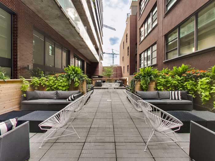 The Ninety Lofts Outdoor Patio