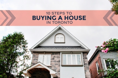 cover image for ten steps to buying a house in toronto