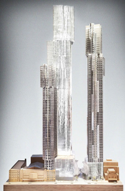 Mirvish Gehry Condos two towers
