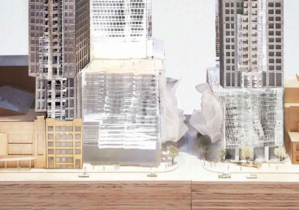 Mirvish Gehry Condos canopy design