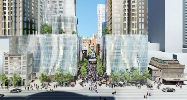 Mirvish Gehry Condos Ed Mirvish Lane