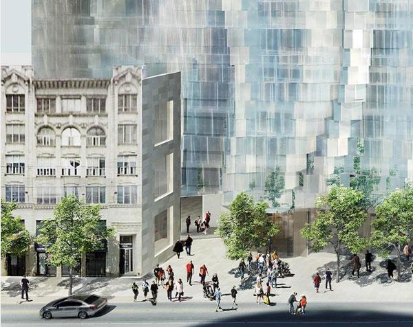 Mirvish Gehry Condos promenade