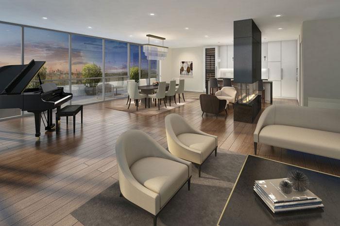 Terrasse Condos Penthouse