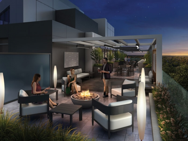Terrasse Condos Rooftop Terrace