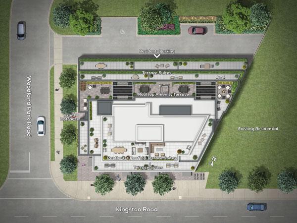 Terrasse Condos Site plan