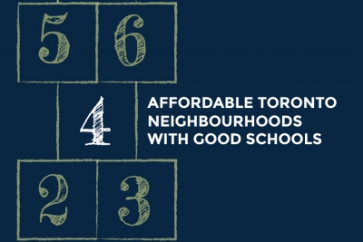 cover image for affordable toronto neighbourhoods with good schools