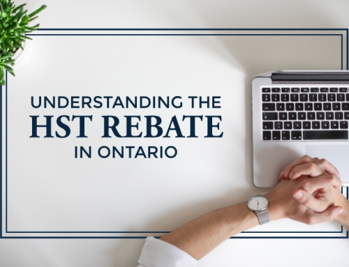 UNDERSTANDING THE HST REBATE IN ONTARIO