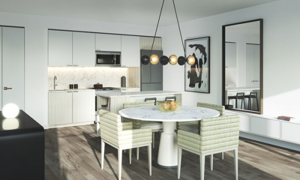 Birchcliff Urban Towns Kitchen and dining area