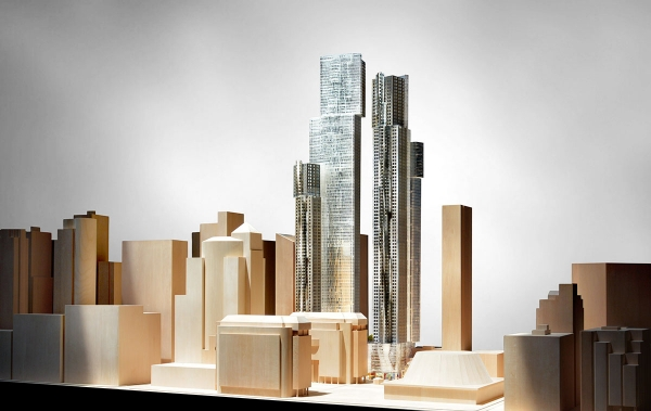 Southeast View of Mirvish Gehry Condos