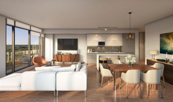 TANU Condos suite design