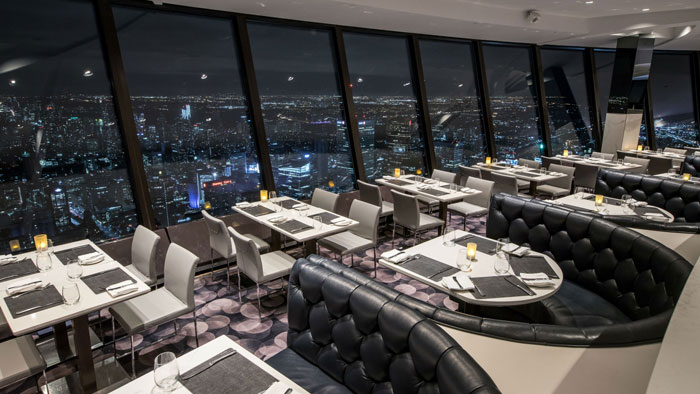 360 CN Tower Restaurants with a View