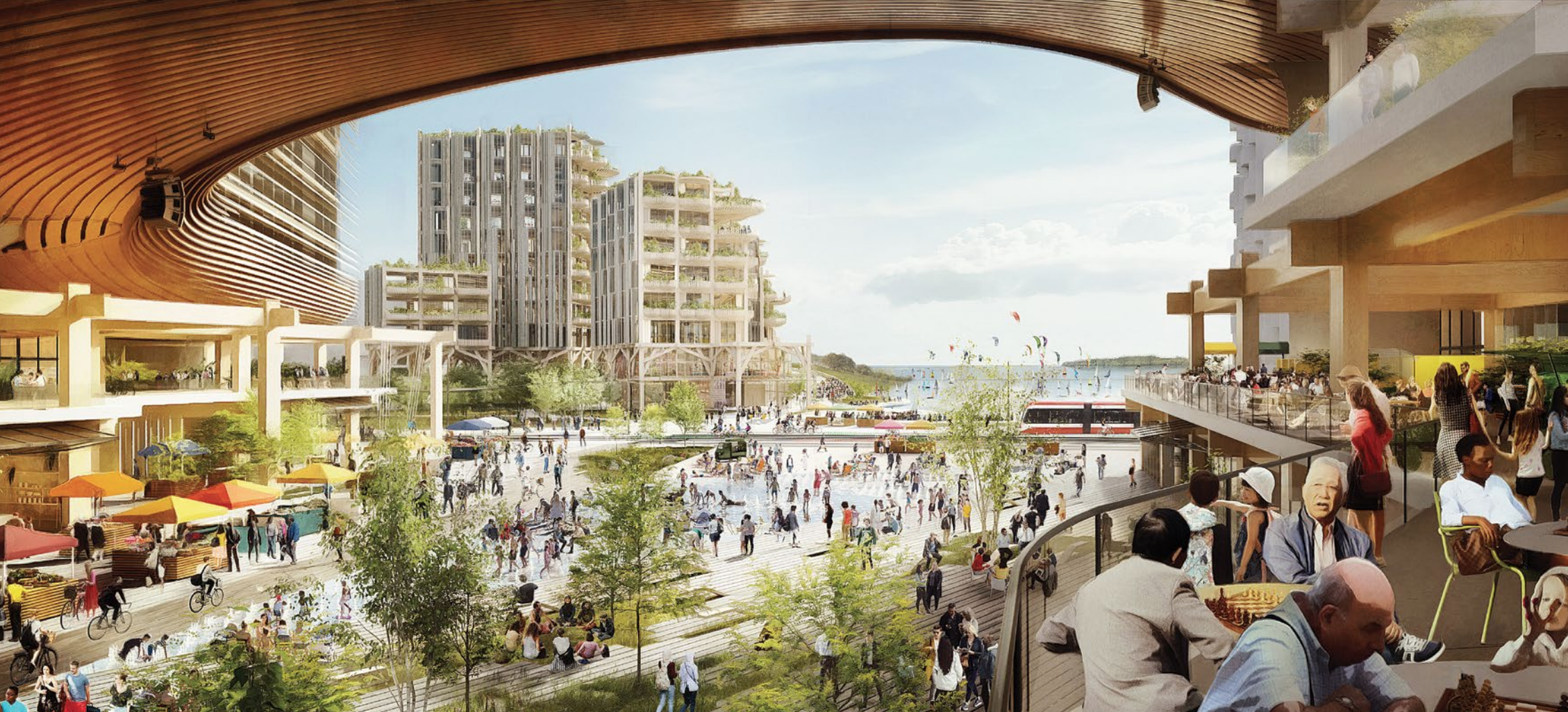 Toronto Smart City Quayside to be all mass timber