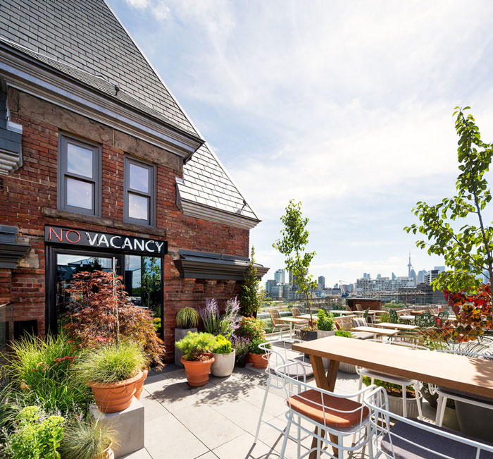 The Broadview Hotel's Rooftop is one of the best Restaurants with a View