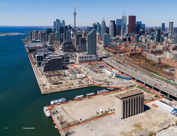 quayside toronto location in Toronto