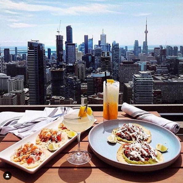 The One Eighty Toronto Restaurants with a View