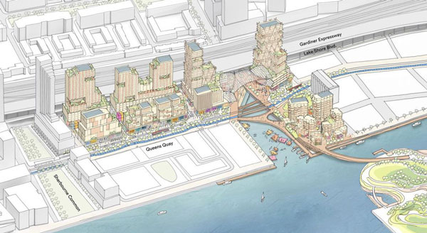Toronto Smart City Quayside Map