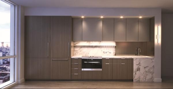 United Condos suite kitchen