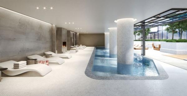 United Condos pool