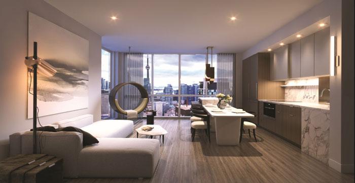 United Condos suite