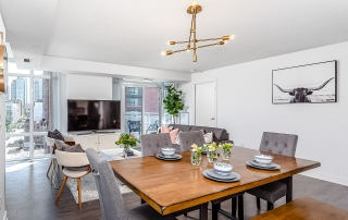 Dining Room Home Staging Example in Toronto | Pierre Carapetian Group
