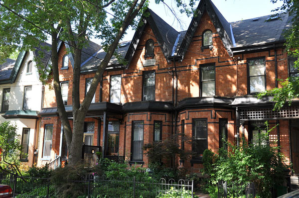 Cabbagetown Victorian Houses