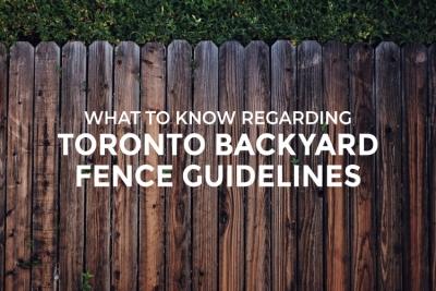 toronto backyard fence guidelines blog image