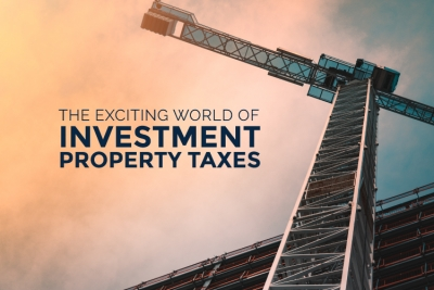 blog image for investment property taxes