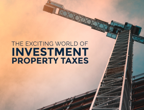 THE EXCITING WORLD OF INVESTMENT PROPERTY TAXES
