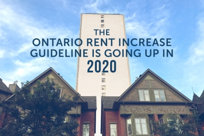 Ontario Rent Increase Guideline blog cover