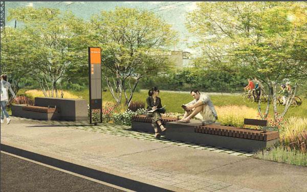 Toronto Green Line rendering