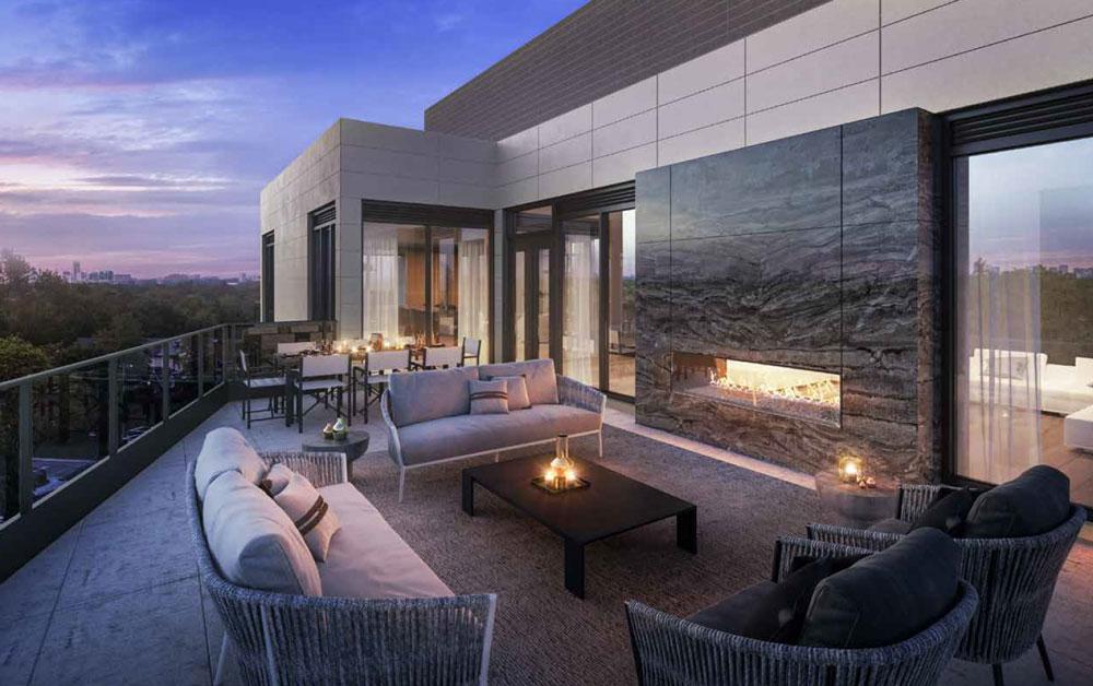 250 Lawrence Condos Rooftop