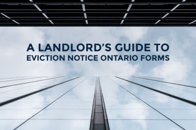 eviction notice ontario forms blog