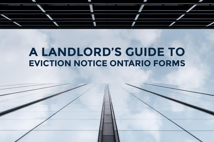 eviction notice ontario forms blog