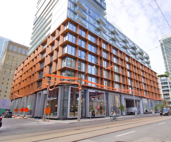 sixty colborne condos and PI CO