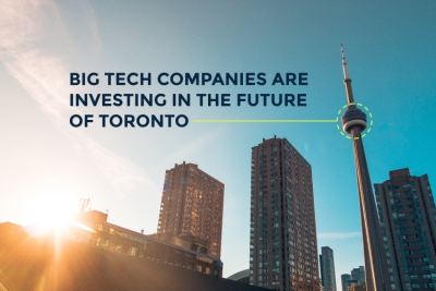big tech companies investing in the future of toronto