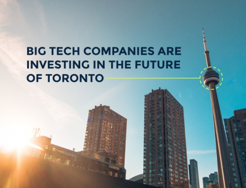 BIG TECH COMPANIES ARE INVESTING IN THE FUTURE OF TORONTO