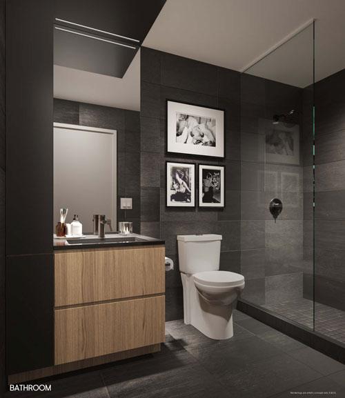 The Saint Condos Bathroom