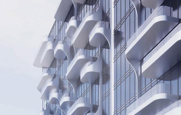 ANX Condos facade