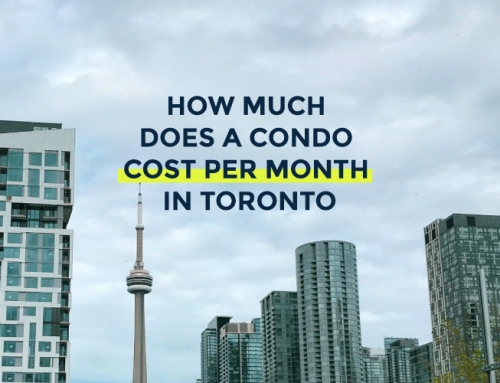 HOW MUCH DOES A CONDO COST PER MONTH IN TORONTO?