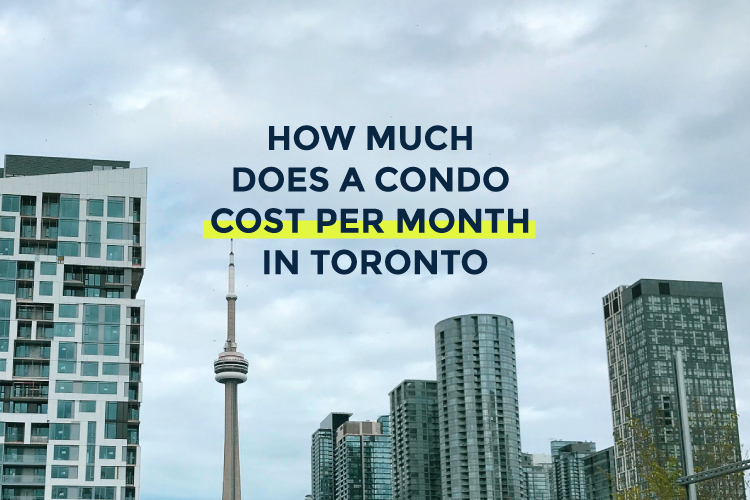 how much does a condo cost per month